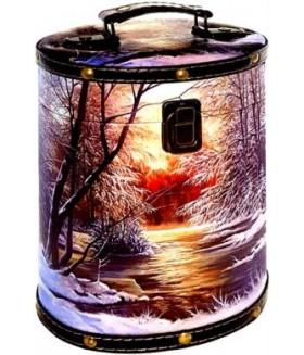 ТУЕС ФЕВРАЛЬСКОЕ СОЛНЦЕ дерево+кожа 1000 гр